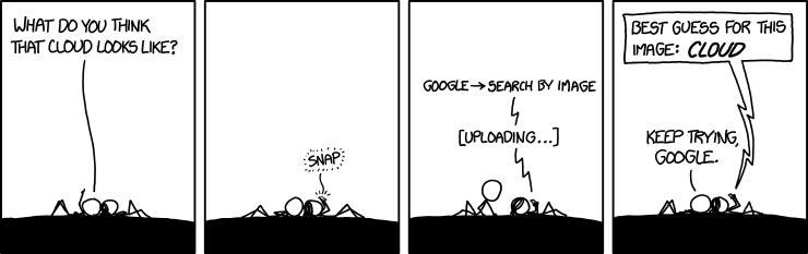 Cloud computing has a ways to go.