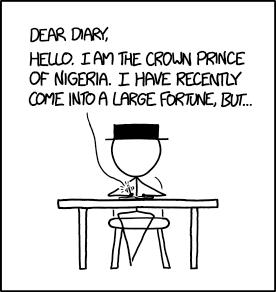 Dear Diary: UNSUBSCRIBE