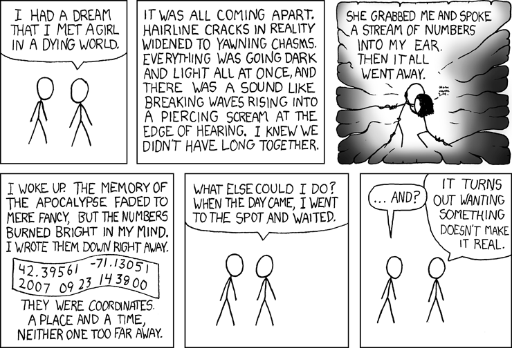 xkcd: Dream Girl