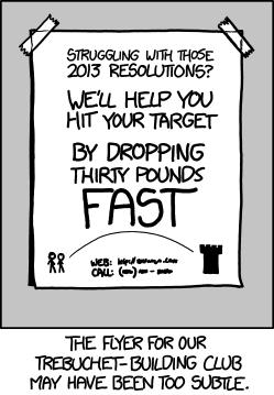 xkcd: Drop Those Pounds