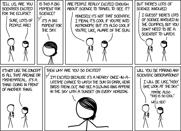XKCD 1877 - Eclipse Science