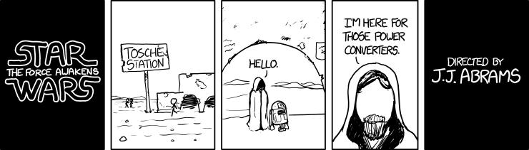 xkcd Star Wars