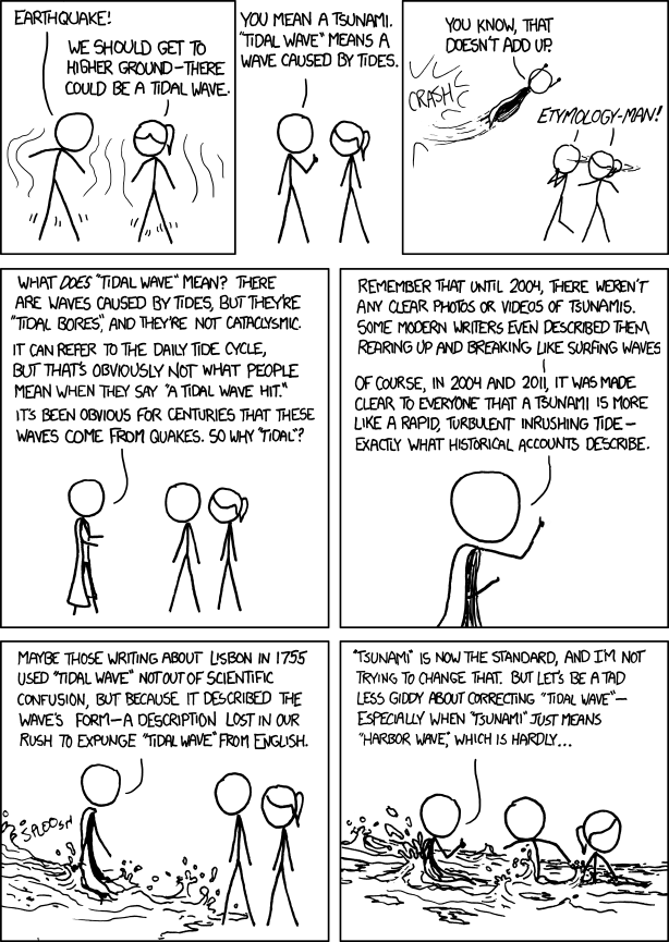 XKCD comic from 2012 January 31