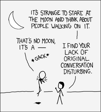 "xkcd comic #307: ""that's no moon"""