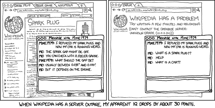 Image result for xkcd wikipedia