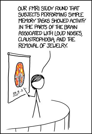 XKCD MRI Scans