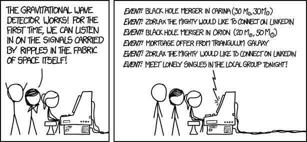 XKCD Gravitational Waves