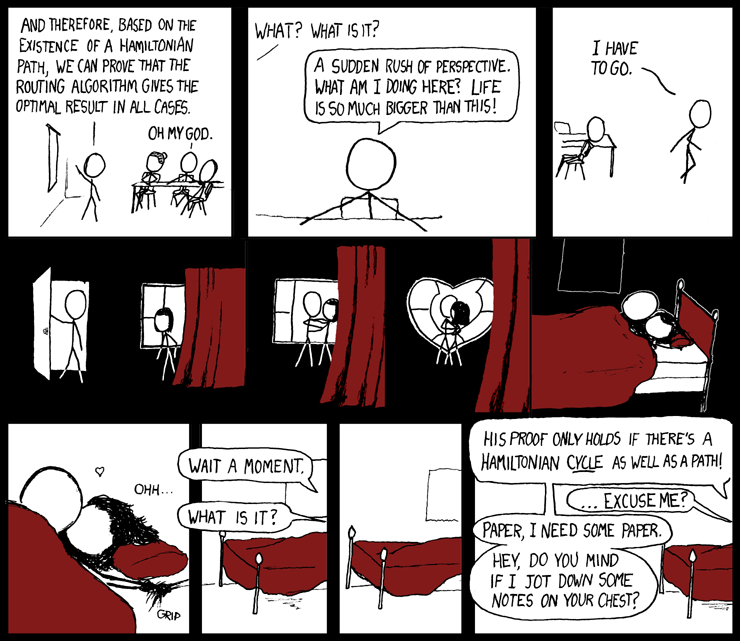 xkcd 230: hamiltonian (by Randall Munroe)