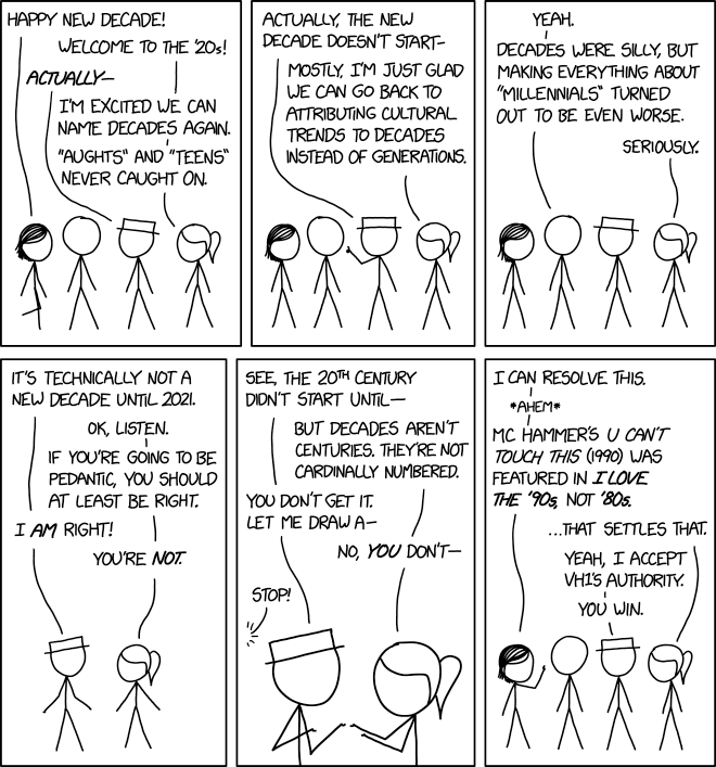 xkcd: I Love the 20s
