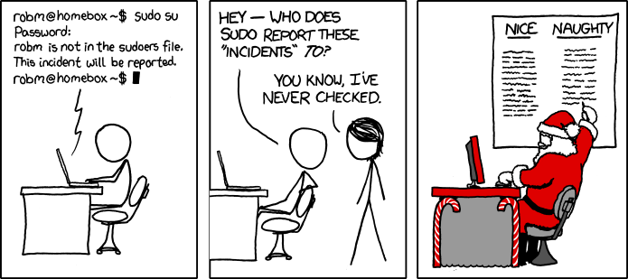 Incident by xkcd