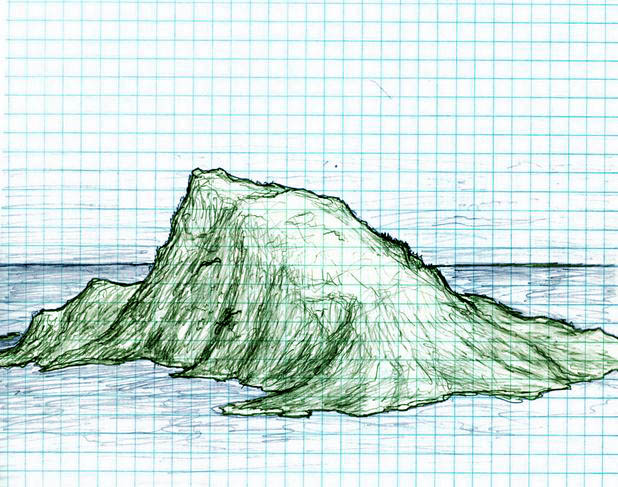 'Island (sketch)' from the web at 'https://xkcd.com/imgs.xkcd.com/comics/island_color.jpg'
