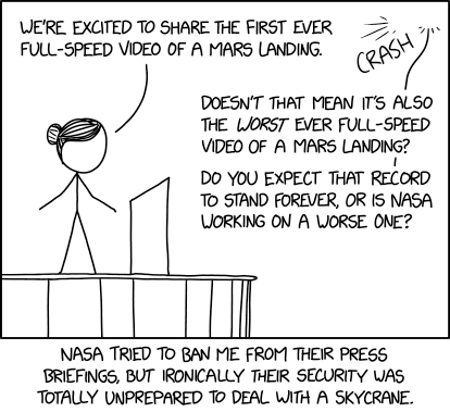 Mars Landing Video
