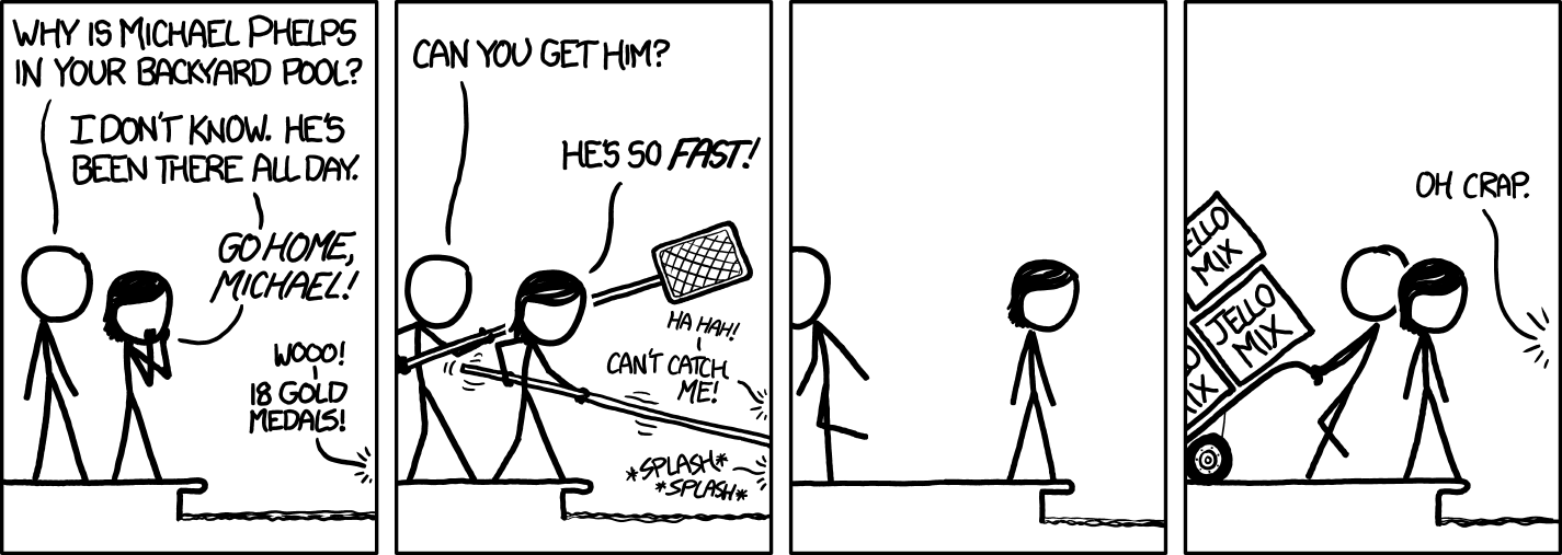 xkcd: Michael Phelps