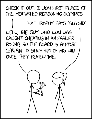 Motivated Reasoning Olympics