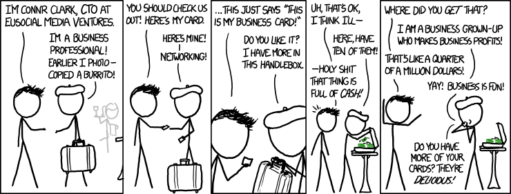 XKCD Networking