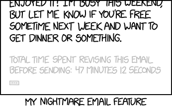 Nightmare Email Feature