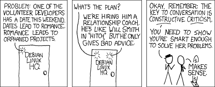 Xkcd dating advice