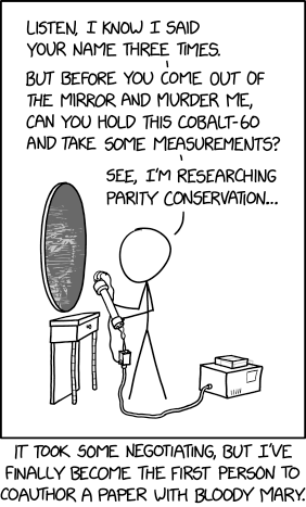Parity Conservation