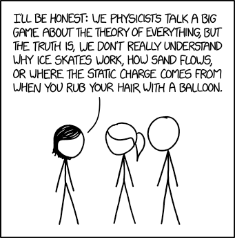 Physics Confession
