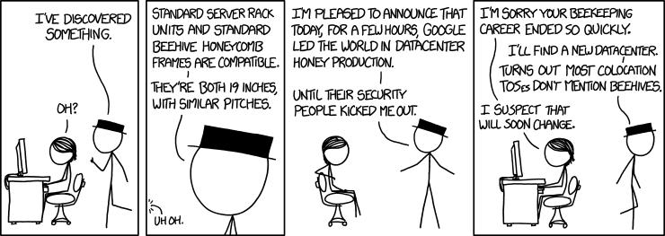 xkcd: Rack Unit