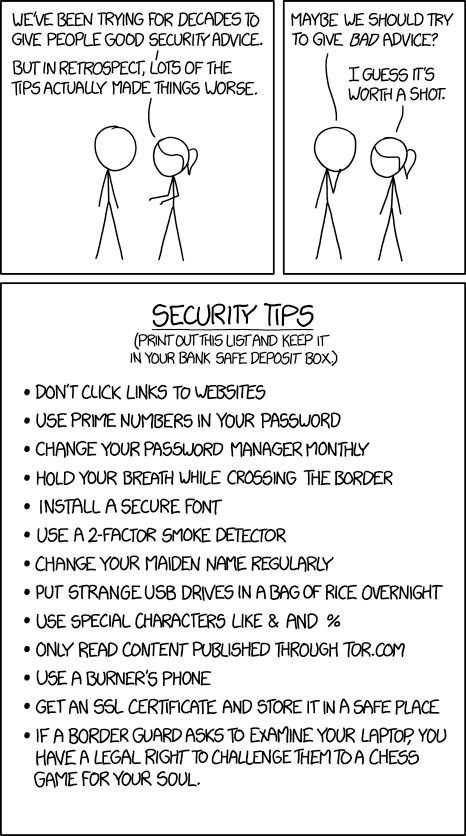 Security Advice