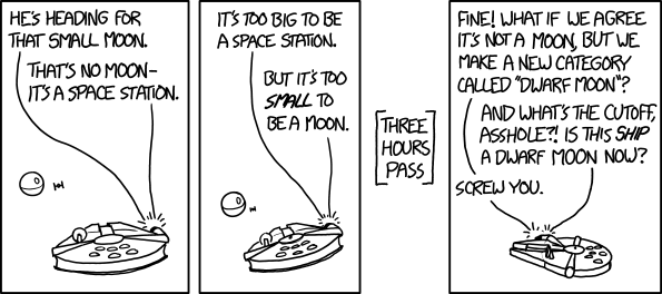 Small moon comic from XKCD