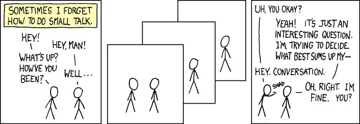 xkcd: Small Talk
