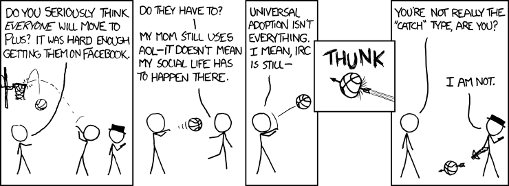 XKCD: Google+ Speculation