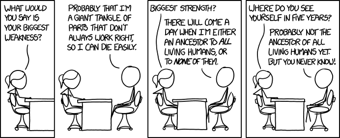 xkcd Strengths and Weaknesses