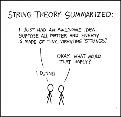 String Theory vs LDA
