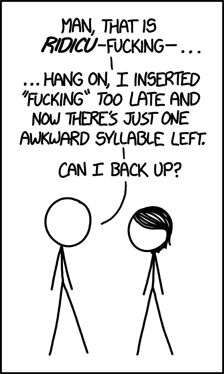 xkcd: Syllable Planning