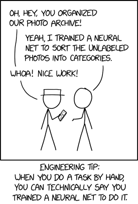 "It also works for anything you teach someone else to do. ""Oh yeah, I trained a pair of neural nets, Emily and Kevin, to respond to support tickets."""