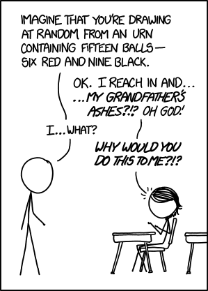 XKCD-SUCKS presents: Died In A Blogging Accident: Comic 1374