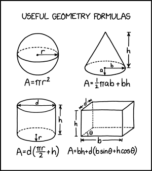 Geometry textbooks always try to trick you by adding decorative stripes and dotted lines.