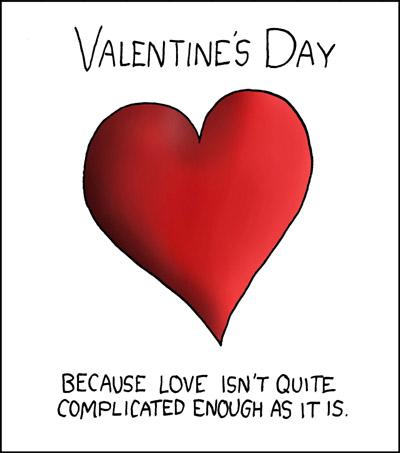 Una scurta de Valentine's Day