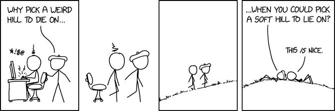 Weird Hill