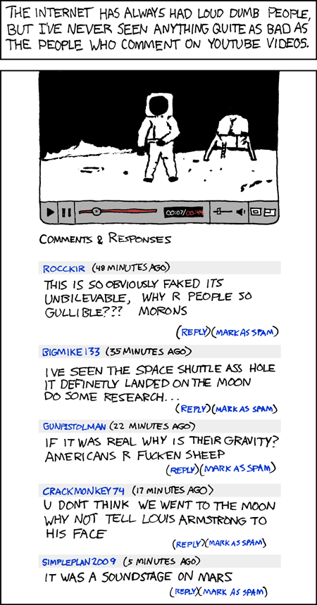 Xkcd: YouTube